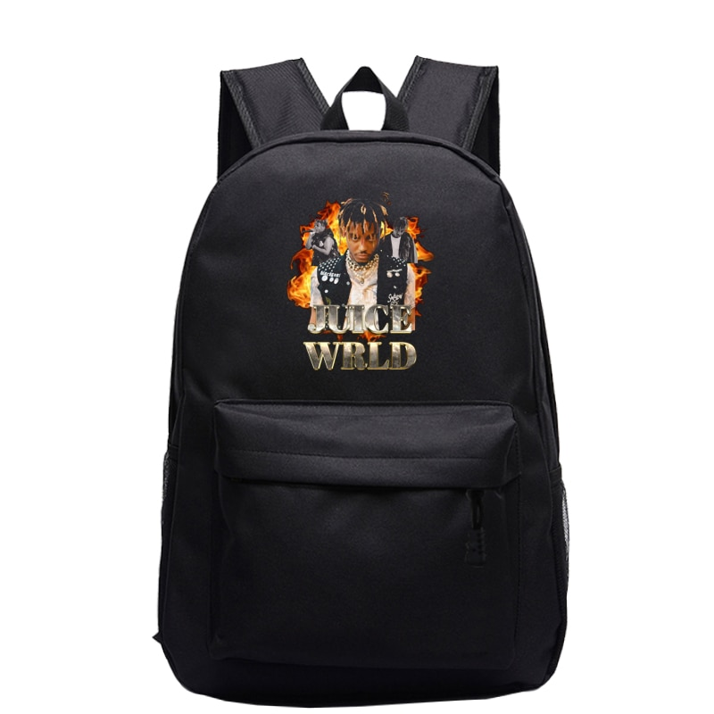 Juice Wrld Printed Backpack