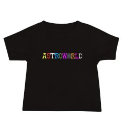 ASTROWORLD Travis Scott Baby Jersey Short Sleeve Tee - MillionMerch