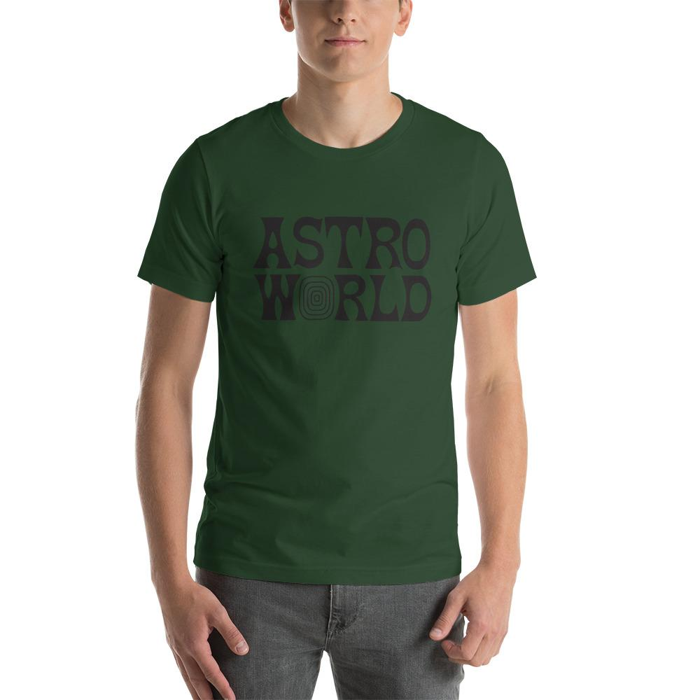 ASTROWORLD Unisex T-Shirt Short-Sleeve - MillionMerch