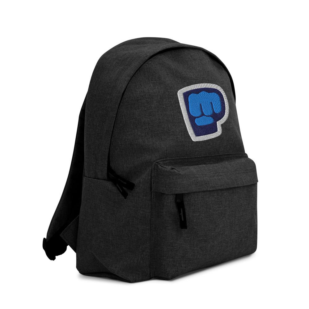 Pewdiepie Embroidered Backpack - MillionMerch