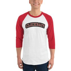 David Dobrik Clickbait 3/4 sleeve raglan shirt - MillionMerch