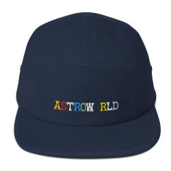 Travis Scott AstroWorld Five Panel Cap - MillionMerch