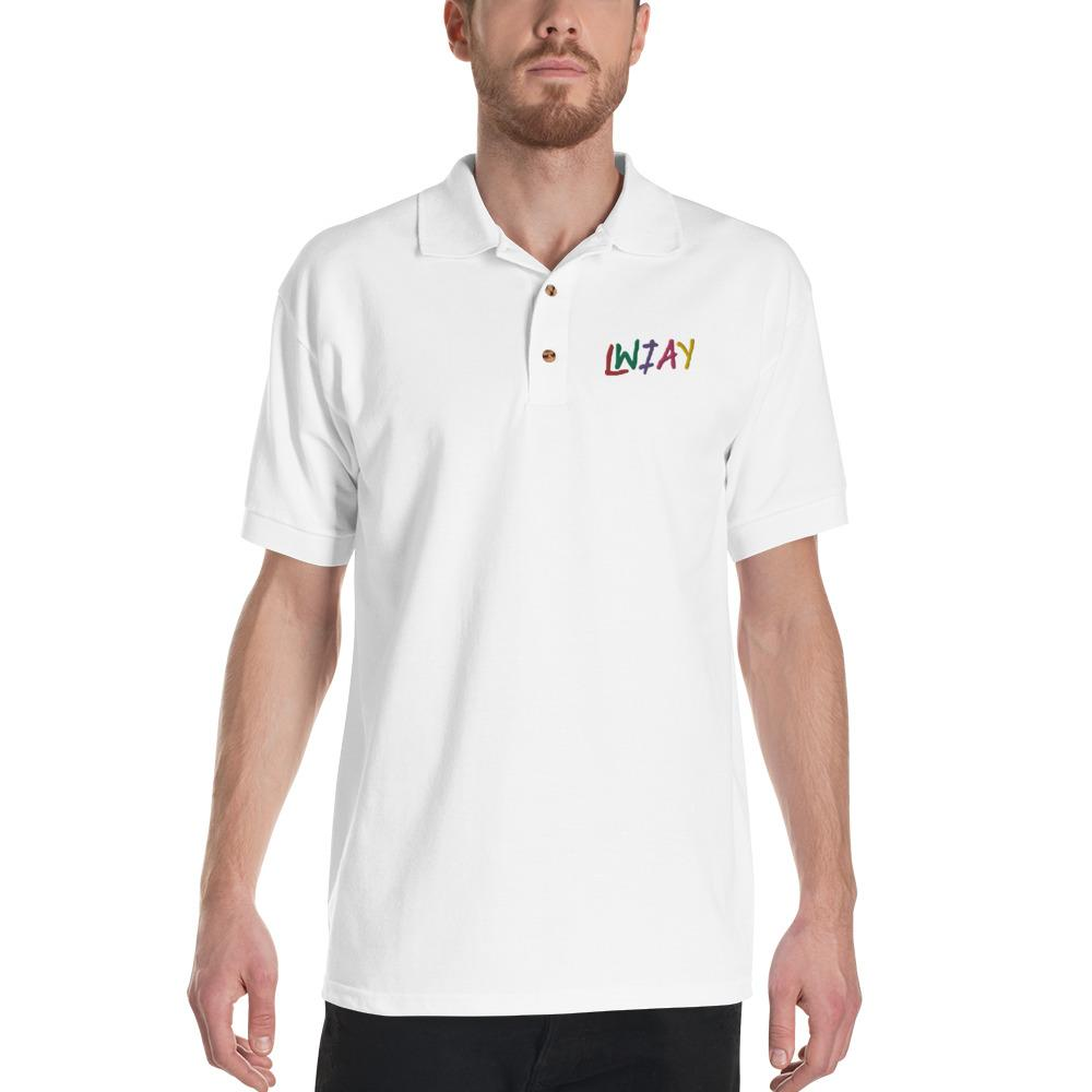 Pewdiepie LWIAY Embroidered Polo Shirt - MillionMerch