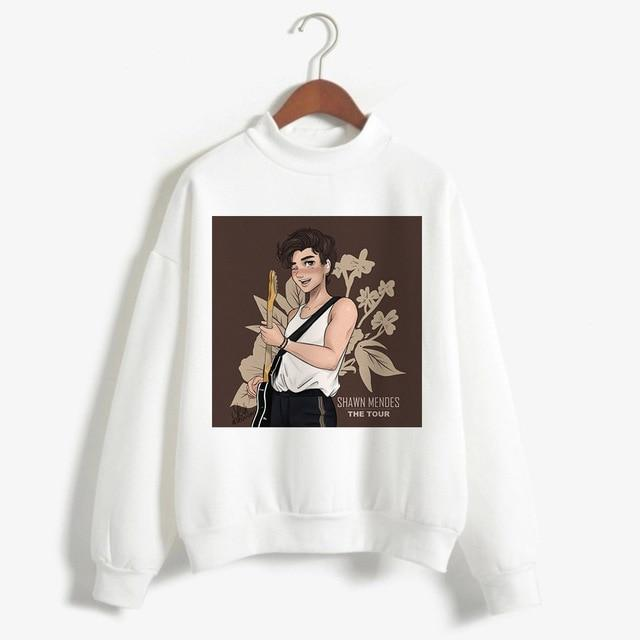Shawn Mendes Pullovers Hoodie 90s Fashion Sweatshirts - MillionMerch