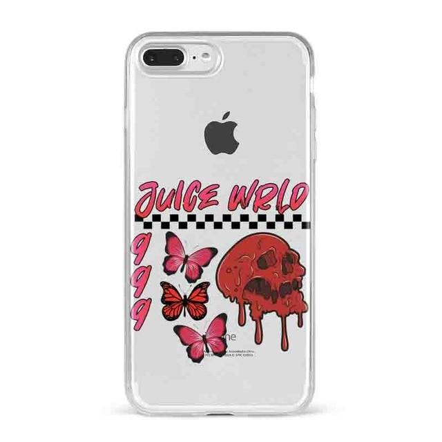 Juice WRLD 99 Soft transparent Silicone Cover Case for Apple iPhone - MillionMerch
