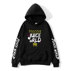Best JUICE Wrld rainbow glitch sweatshirt  hoodie - MillionMerch