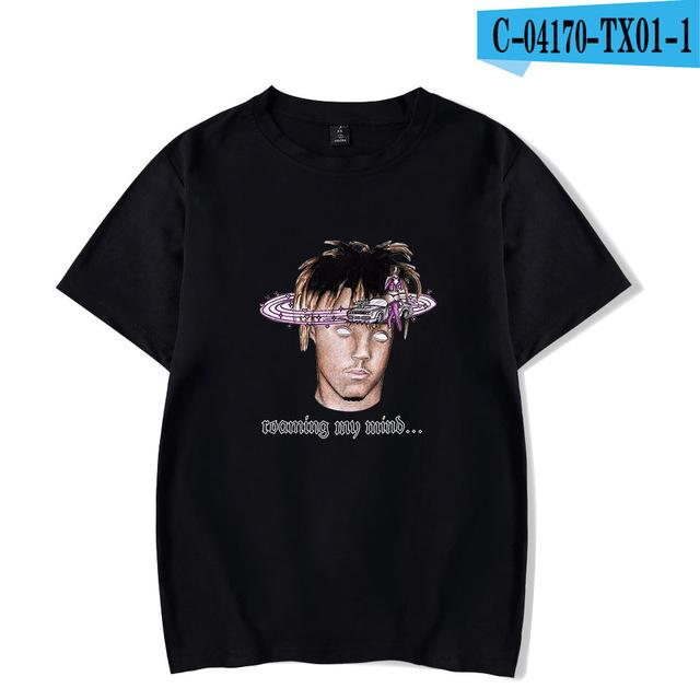 Juice Wrld  printed t-shirt casual tops - MillionMerch