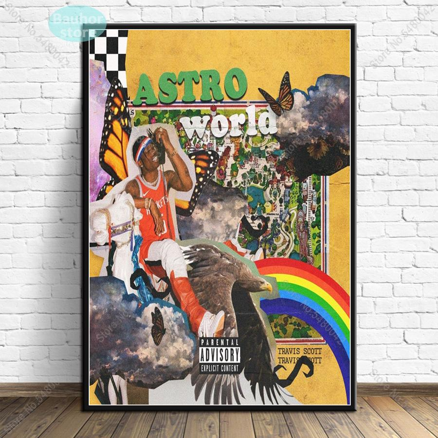 Astro World New Poster Wall Art - MillionMerch