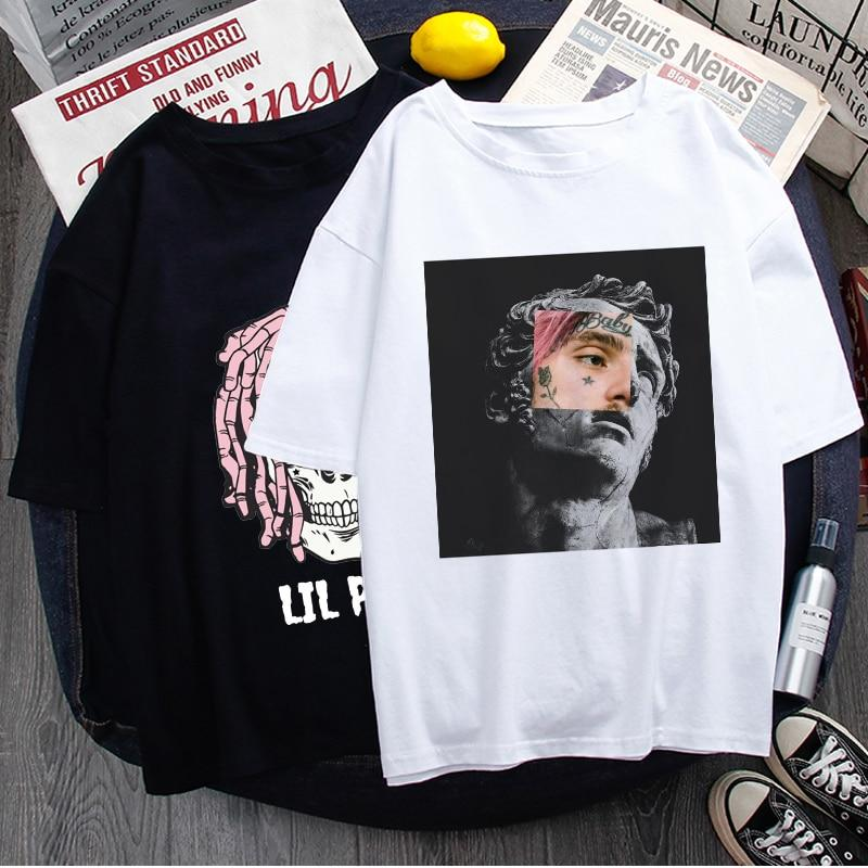 Rip Lil Peep Unisex Graphic Cool T Shirt - MillionMerch