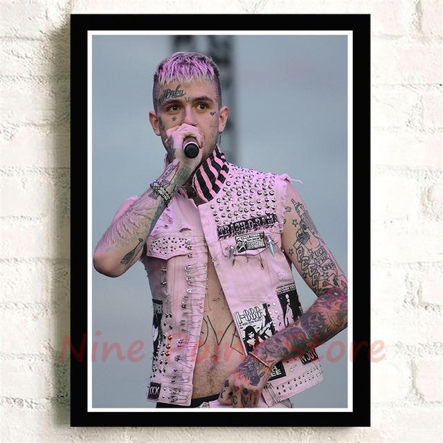 High Quality Lil Peep Rapper Coated Paper Printing Posters - MillionMerch