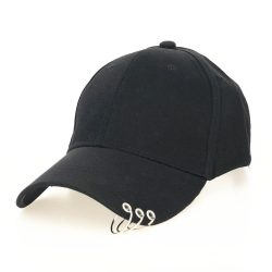 High Quality Adjustable Baseball Hat With Ring - MillionMerch