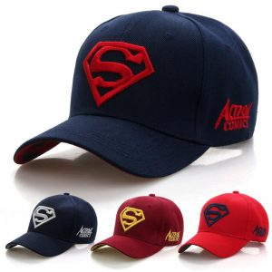 2020 New Letter Superman Cap Casual Cap - MillionMerch