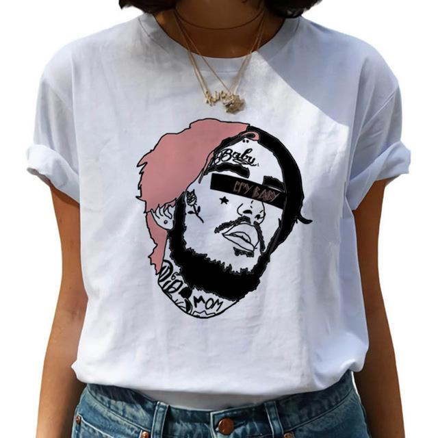 Lil Peep Hip Hop Printed Graphic t-shirts - MillionMerch