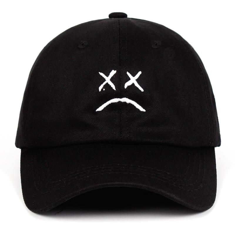 Lil Peep 100% Cotton Embroidery Dad Hat - MillionMerch
