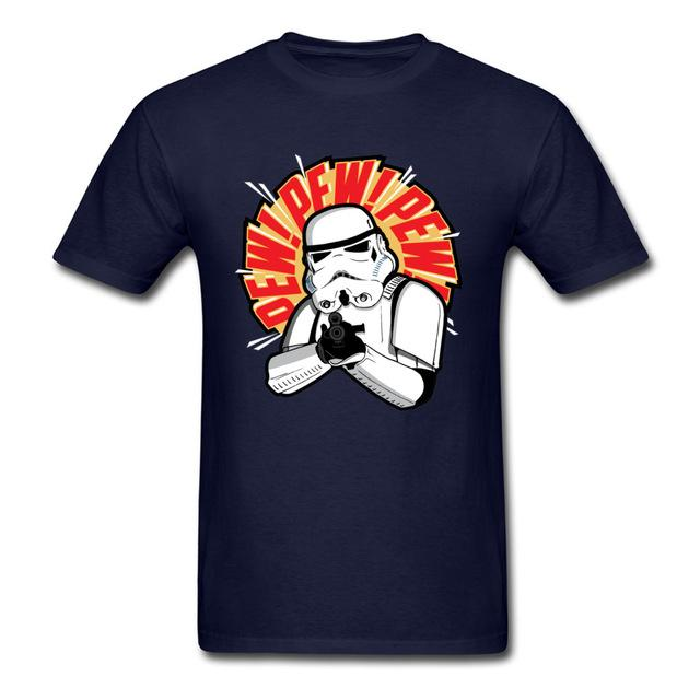 Funny Pewdie Mens T-shirt Star Wars - MillionMerch