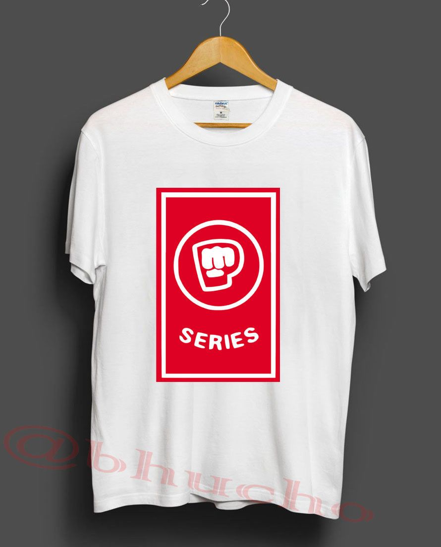 Pewdiepie Series Unisex White Cotton T-Shirt - MillionMerch