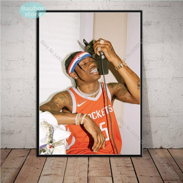 Travis Scott Hot Poster Canvas Painting for Wall Art - MillionMerch