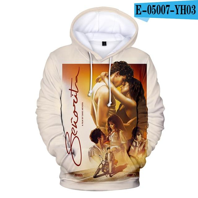New Shawn Mendes 3D hoodie pullovers Hip Hop hoodie casual Sweatshirts - MillionMerch