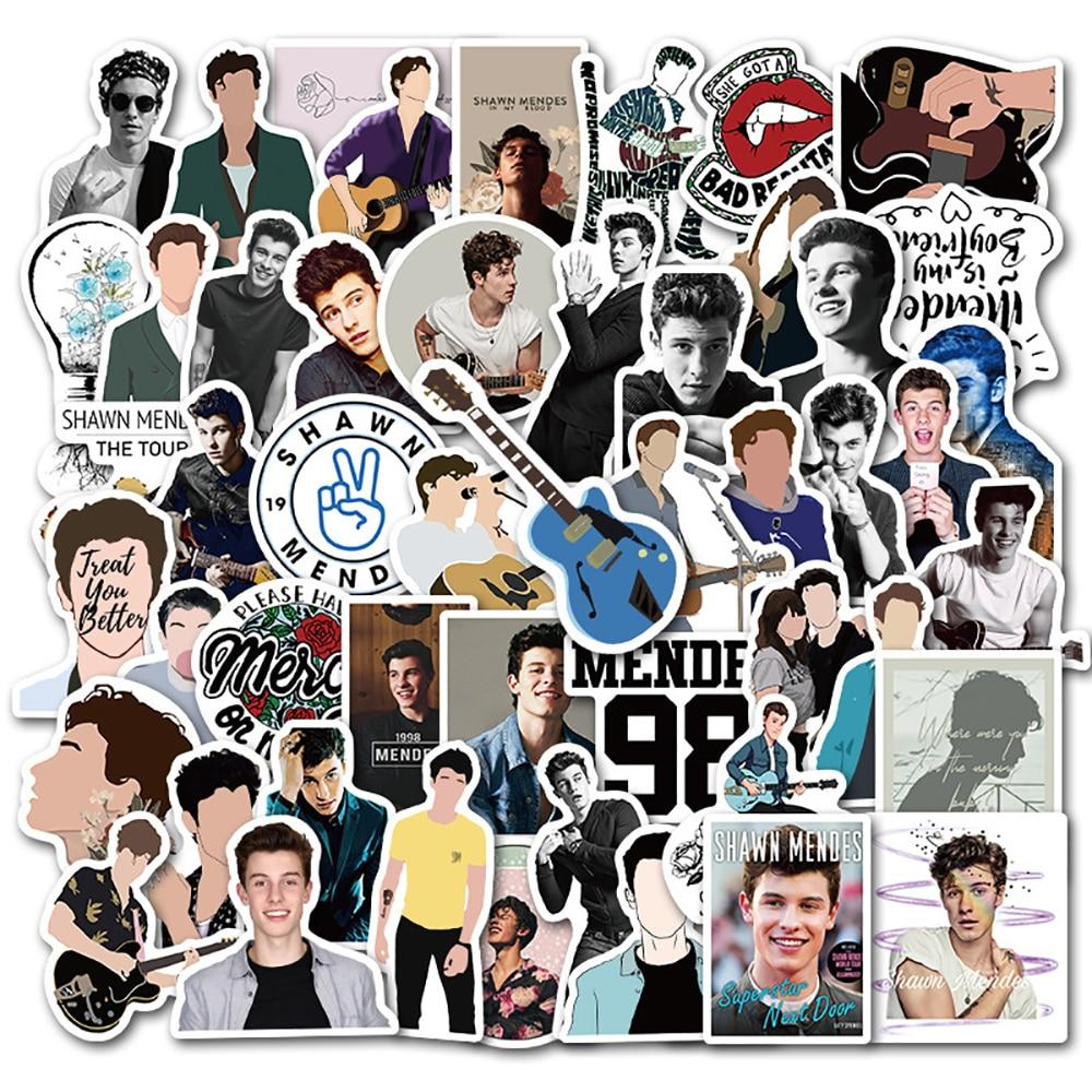 Singer Shawn Mendes DIY Waterproof Stickers - MillionMerch