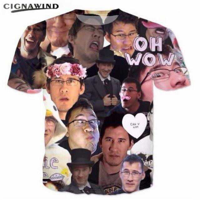 New Markiplier collage 3D printed funny t shirts men/women - MillionMerch